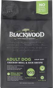 blackwood chicken meal u0026 rice recipe lean diet dry dog food