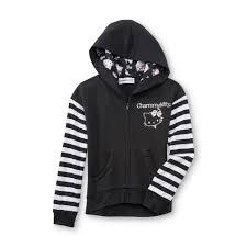 kitty u0027s charmmy kitty hoodie jacket striped