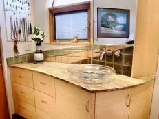 How To Build A Bathroom Vanity How To Build A Master Bathroom Vanity Hgtv