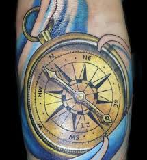 110 best compass tattoo designs wild tattoo art