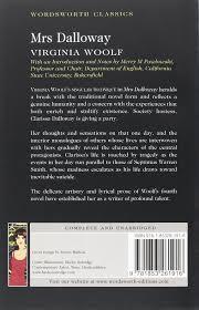 mrs dalloway virginia woolf wordsworth classics amazon co uk