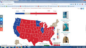 Presidential Election Map by