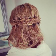 plait hairstyles for short hair 16 fashionable braided half up half down hairstyles styles weekly
