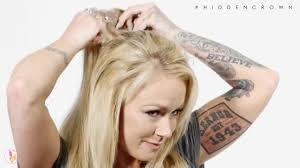 hair extensions for crown area introducing the crown topper by hidden crown youtube
