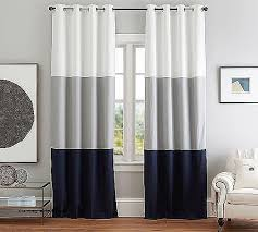 2 Tone Curtains Two Tone Curtains Window Treatments Best Of Color Block Drape With