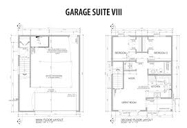 apartments garage with suite above plans garage plans with