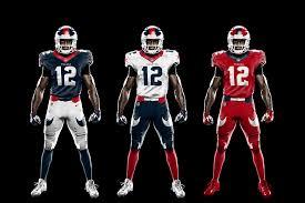 design gridiron jersey all 32 nfl teams redesigned uniforms page 5 of 8 nflrt