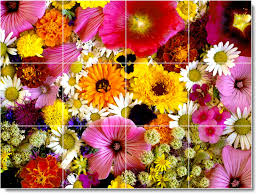 bathroom amazing online get cheap flower wall tiles alibaba