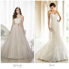 bridal stores calgary calgary s wedding salons give their top splurge and save picks for