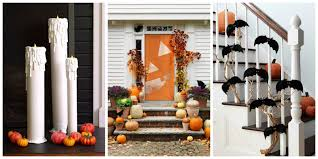 home made halloween decorations 40 easy diy halloween decoration ideas homemade halloween decor