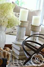 Transitional Decorating Style How To Style A Transitional Coffee Table Vignette Stonegable