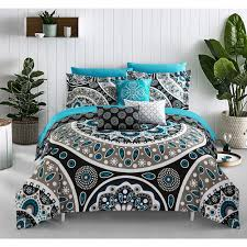 chic home gaston 10 piece bed in a bag comforter set products