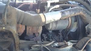 roadside repair of turbo line on a 2006 isuzu npr box truck youtube