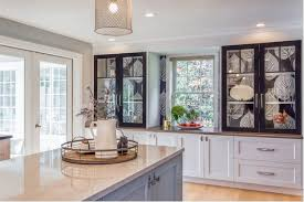 kitchen of the week big leaves and shades of blue