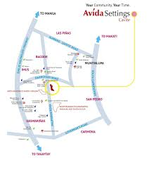 La Salle Campus Map Avida Settings Cavite Avida House And Lot Cavite Atayala