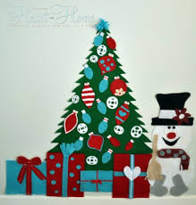 play felt tree frosty all things and home