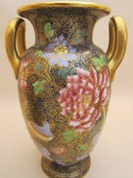 Spode Vases Garniture Of 3 Spode Copelands China England Pattern 5981 Vases C