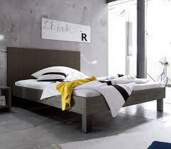 Schlafzimmer In Grau Vintage Bett In 180x200 Cm Mit Hohem Kopfteil Talca