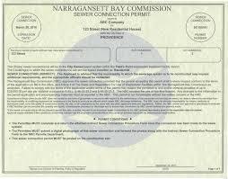 narrabay nbc sewer connection permit program