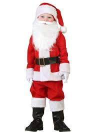 santa costumes toddler santa costume