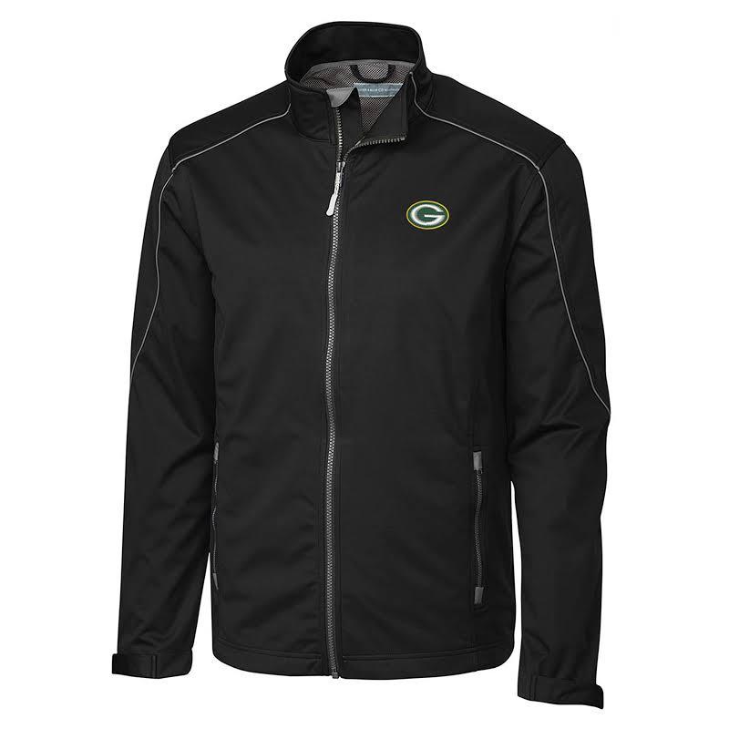 Cutter & Buck MCO00950 Cb Weathertec Opening Day Softshell Soft Shell Jacket Black Medium Medium Black The Deal Rack