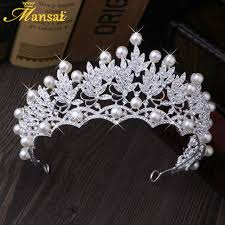 wedding tiaras online shop gorgeous wedding tiara simulated pearls jewelry diadem
