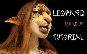halloween leopard makeup tutorial leopard makeup tutorial leopard makeup youtube