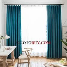Light Block Curtains Peacock Blue Turquoise Blackout Curtains Light Blocking Buy Blue