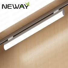 commercial track lighting systems 24w36w48w60w linear led tube track lighting contemporary track