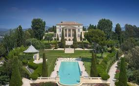 Castle Style Homes by Legendary Mansion On The French Riviera With Neo Palladian Style