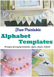 free printable vertical banner template free printable banner templates alphabet with different styles
