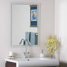 Round Bathroom Mirrors by Vanity Mirrors Framed And Oval Bathroom Mirrors