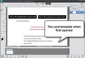greeting card setup u0026 printing photoshop elements 11 u0026 12