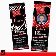 Mickey Mouse Invitation Cards Printable Photo Printable Zebra Baby Shower Image