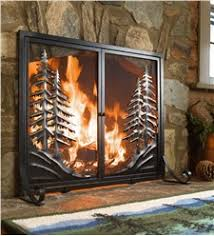 fireplace screens fireplace covers plow hearth