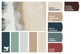 color palettes for home interior modern style house interior paint colors with coastal summer