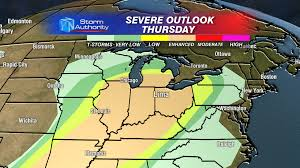 Weather Map Illinois by Severe Weather Beyond The Studio
