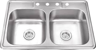 Drop In Stainless Steel Sink Www Iptsink Com Dp 5050 Drop In Top Mount Double Bowl Stainless