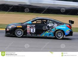 nissan altima coupe sports car pro nissan altima race car on the course editorial image image