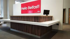 Timber Reception Desk Innov8 Office Innov8office Twitter
