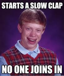 Clapping Meme - slow clap meme 28 images slow clap meme 100 images slow clap gif
