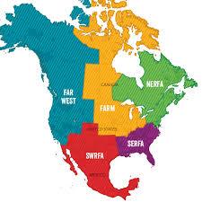 regions of mexico map regions of fai folk alliance international