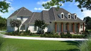 Modern Acadian Style House Plans Tickfaw Louisiana With Wrap