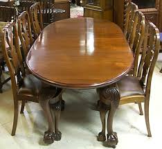 90 Dining Table 3600 90 Mahogany Chippendale Dining Table