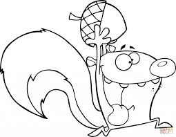 printable squirrel coloring pages for kids page of