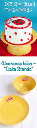 diy cake simple diy cake stand for less than 3 00 the bearfoot baker