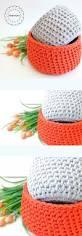 free crochet home decor patterns best 25 crochet basket tutorial ideas on pinterest crochet