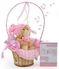 baby basket gifts musical cuddles baby girl gift basket at 32 99