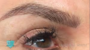 Permanent Makeup Eyebrows Hair Stroke Permanent Hair Stroke Brows Youtube