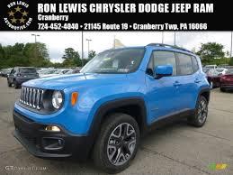jeep renegade blue 2015 sierra blue jeep renegade latitude 4x4 106071628 gtcarlot